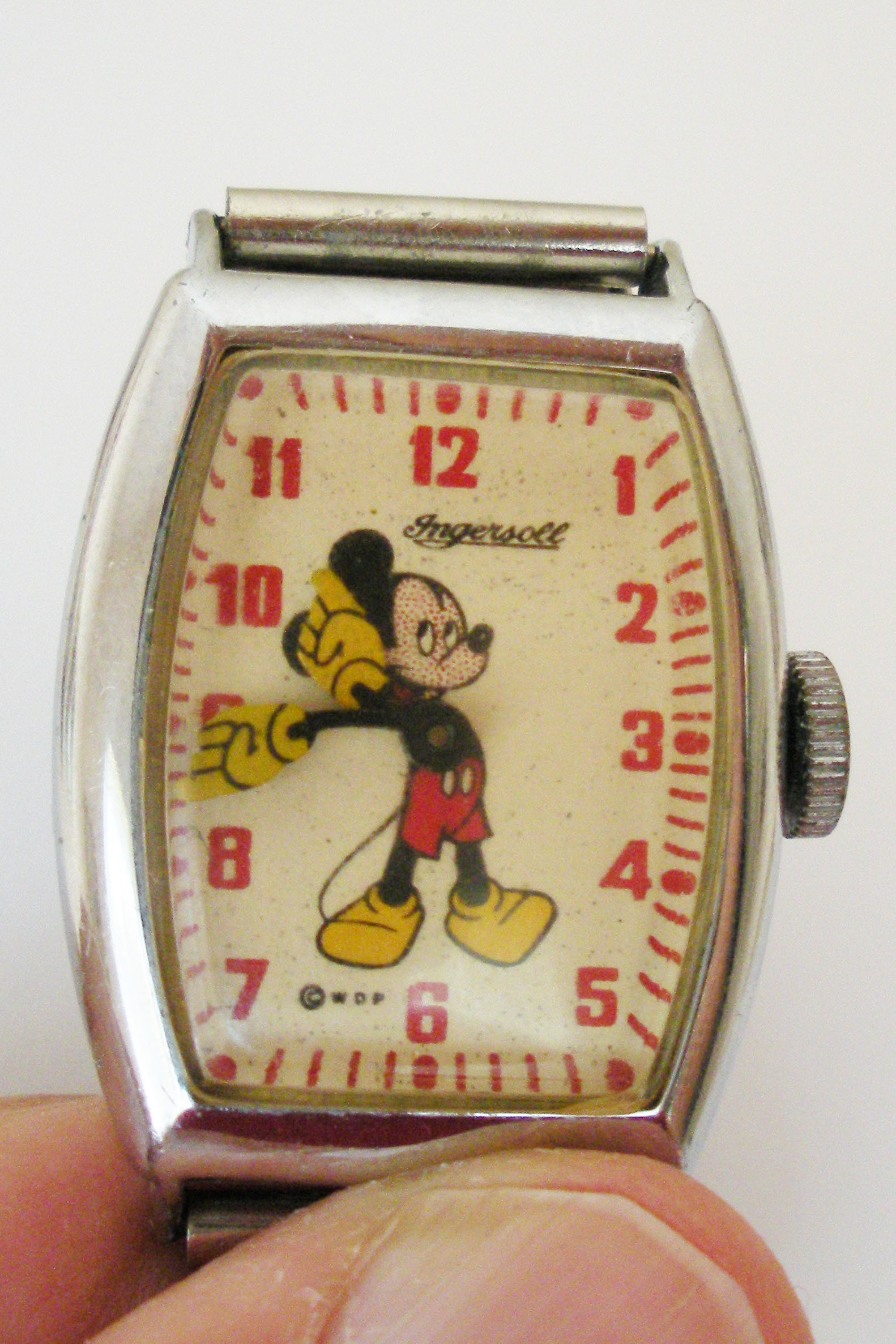 Mickey Mouse Watch Value >> A Rare Antique Shop Find A 1934 Ingersoll Mickey Mouse Watch