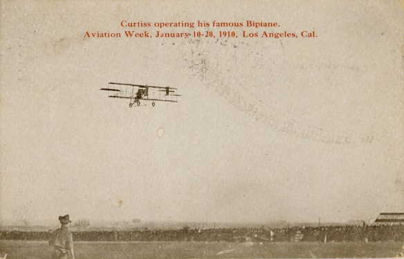 Glenn Curtiss 1910 Recto