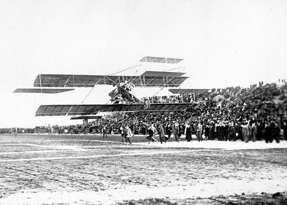 Glenn Curtiss LA, 1910 5 x7 LC