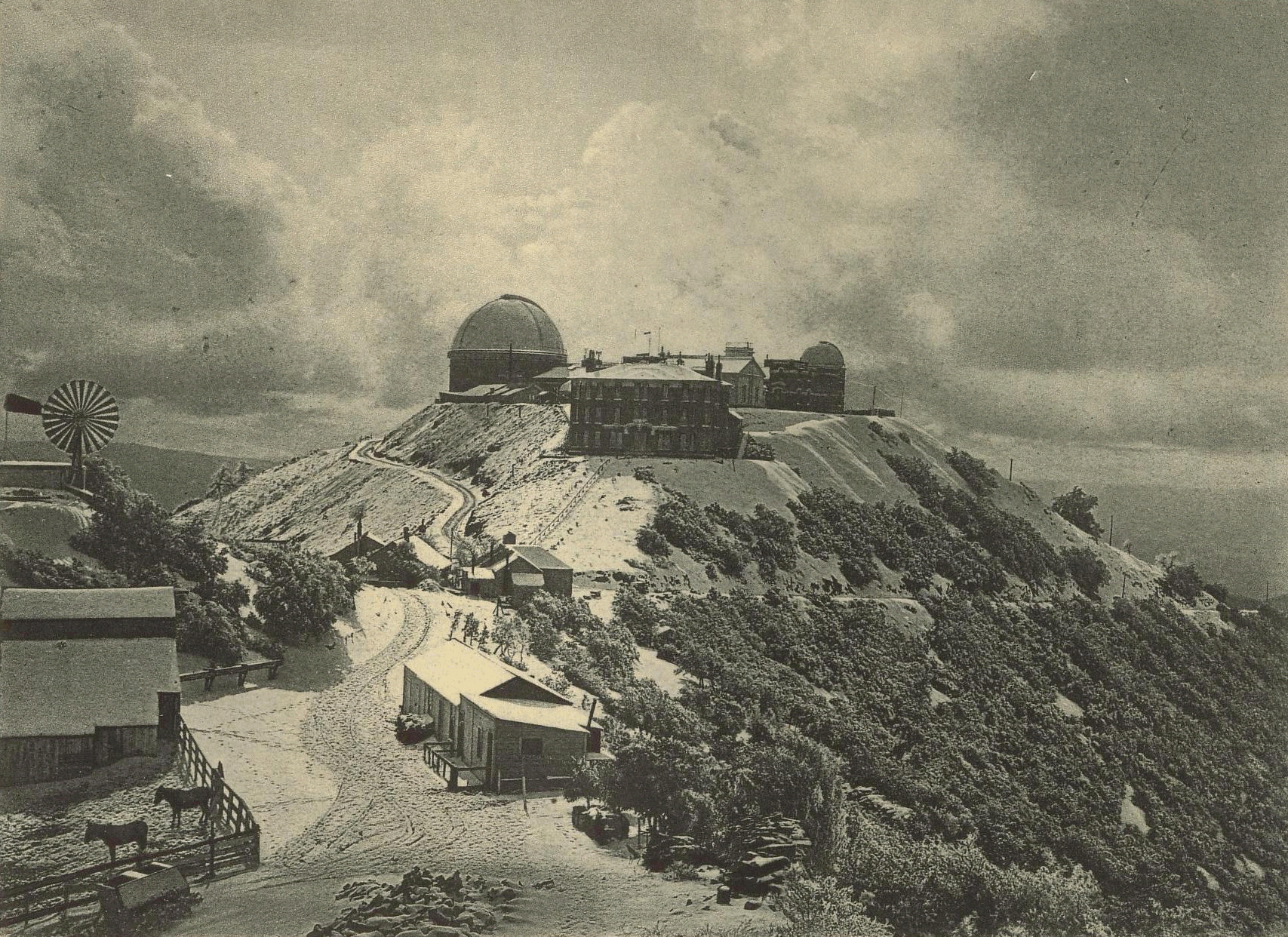The Lick Observatory On Mount Hamilton Historic Outpost