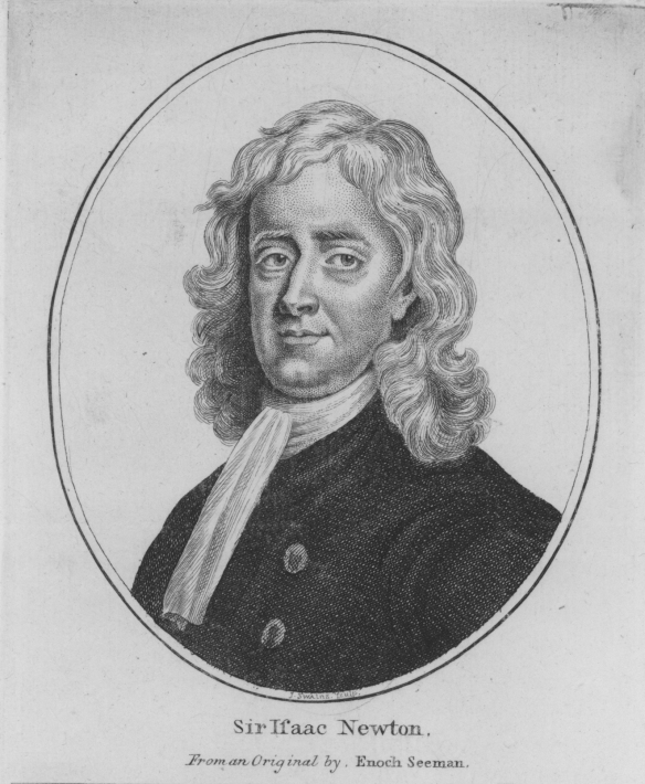 Newton Engraving  001