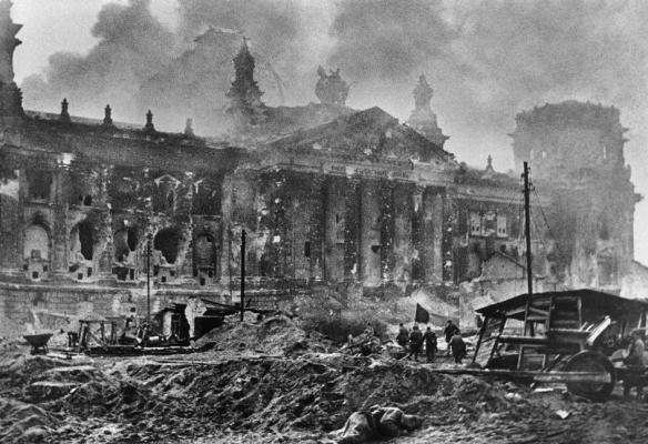 Reichstag Rubble