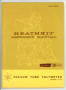 Heathkit VTVM Manual
