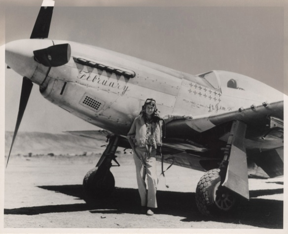 Lt_James_L_Brooks_with_P51_1944[1]