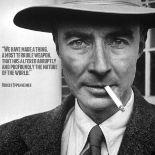 J Robert Oppenheimer And The Atomic Bomb Triumph And