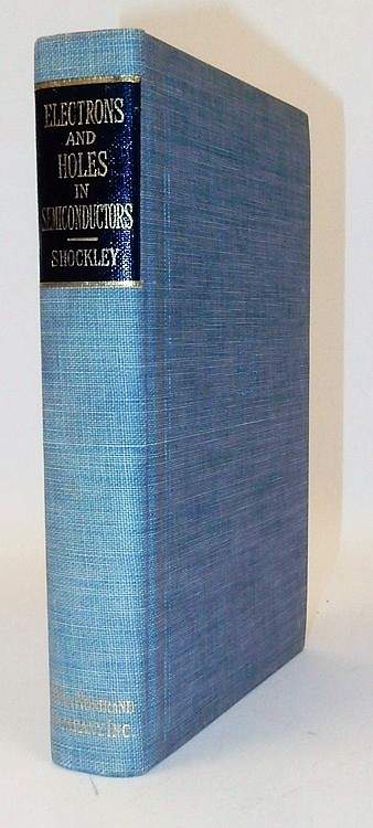Shockley on Electrons and Holes - 1950 1st