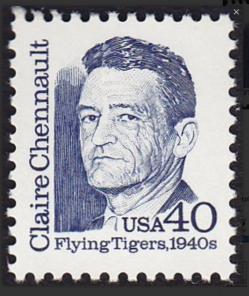 Chennault Stamp 1940